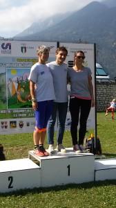 Stesso tempo per Camilla e Clizia Zambiasi (Semiperdo), che dividono il titolo di campionesse regionali in W21